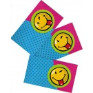 Smiley World Party Invitation Cards (Pack Of 6)