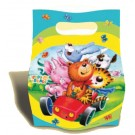 Teddy & Friends Party Loot Bags -Pack of 6