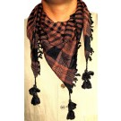 Triangular Brown Arafat Scarf