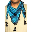 Triangular Blue Arafat Scarf