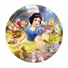 Snow White Paper Plates (Pack Of 8)