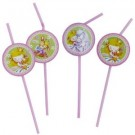 Sweet Little Princess Party Straws (Pack Of 8)