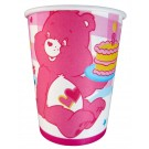 Happy Birthday Teddy Bear Cups - Pink (Pack of 10)