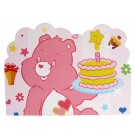 Happy Birthday Teddy Bear Invites - Pink (Pack of 10)