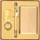 Eco Friendly Wooden Stationery Gift Set