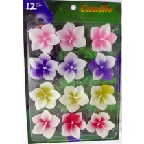 Assorted Floating Candles Design -2 (Pack of 12)