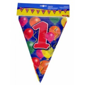 Birthday Flag Banner 1 Year Old