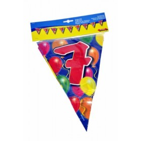 Birthday Flag Banner 7 Years Old