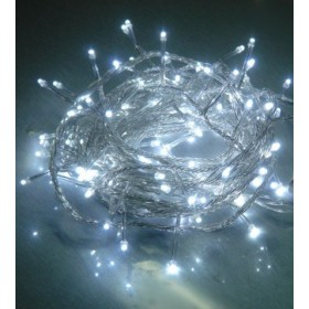 Festive Rice Rope Lights (White)