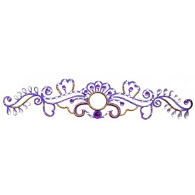 Crystal Arm Band Tattoo Jewel (Design - 19)