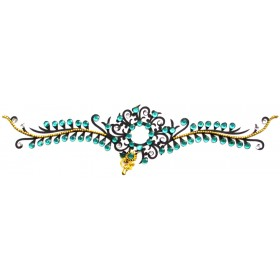 Crystal Arm Band Tattoo Jewel (Design - 23)