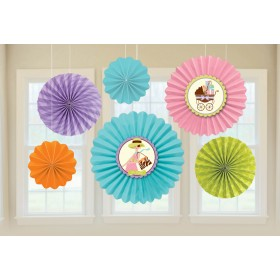 Paper Fan Decoration Modern Mommy