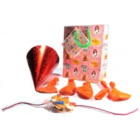 Smiling Dyna Kids Rakhi Combo (Orange) - 1
