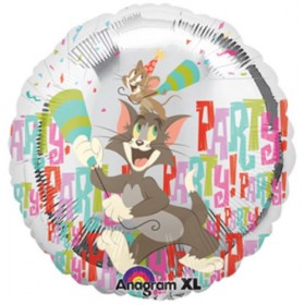 Tom & Jerry Party Animal Foil Balloon -  18""