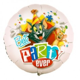 Tom & Jerry Party Foil Balloon -  18""