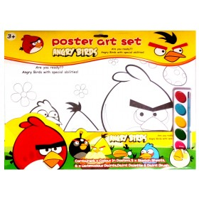 Angry Birds Poster Art Set