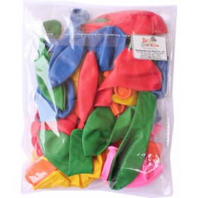 """Assorted Latex Balloons - Pack of 10 - 12"""""""