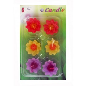 Assorted Floating Candles Design - 2 (Pack of 6)
