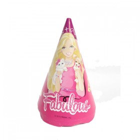 Barbie Party Hats- (Pack Of 8)