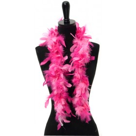 "Candy Pink And Hot Pink Mix Princess Feather Boa (42"")"