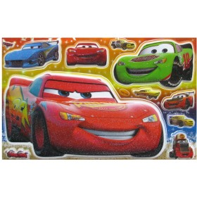 Cars Glitter Wall Stickers