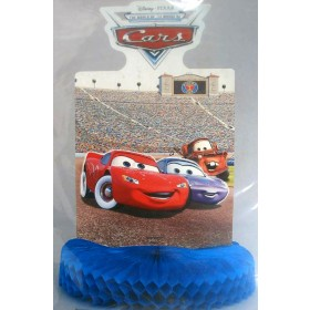 Cars Honeycomb Table Centerpiece