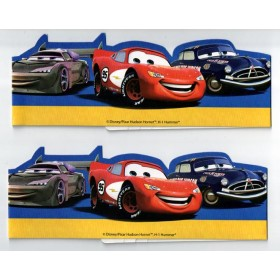 Cars Paper Headbands -Pack of 6