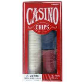 Casino Chips (Pack Of 150)