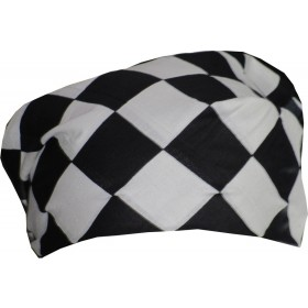 Chess Board Print Bandana