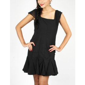 Eli Cap Sleeve Fit & Flare Dress