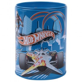 Blue Hot Wheels Coin Bank