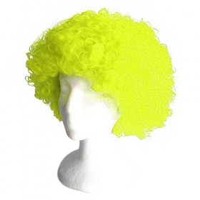 Light Green Frizzy Afro Wig