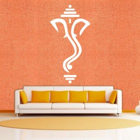 Cute Ganesha - Wall Sticker & Wall Decal