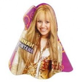 Hannah Montana Party Hats - Pack of 8