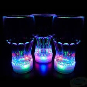 LED Coke Glasses (Pack Of 2)