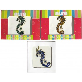 Crystal Body Tattoos Dragon Design - 1 - Set Of 3