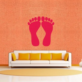 Charan Paduka - Wall Sticker & Wall Decal