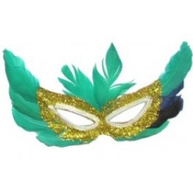 Mystical Feather Eye Mask