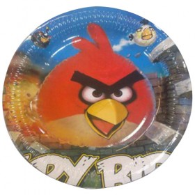 Angry Birds Dinner Plates (Pack Of 10)