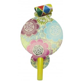 Flower Theme Party Blowouts (Pack of 10)