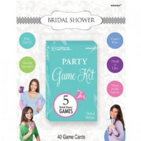 Bridal Shower Game Kit