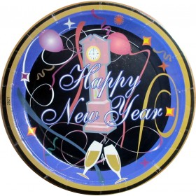 Happy New Year - Dinner Party Plates (Set of 10)