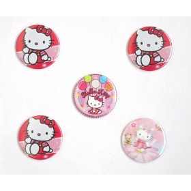 Hello Kitty Pin Badges ( Pack of 5)