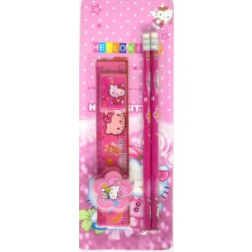 Hello Kitty  Back To School Stationery Set (5 in 1)