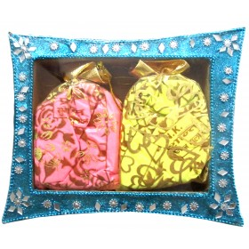 Holi Herbal Scented Gulaal Tray (Pack of 2)