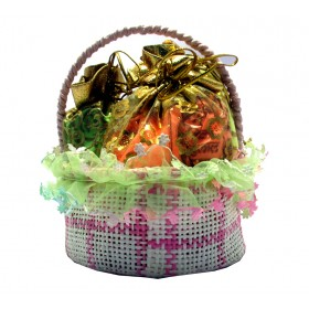 Holi Herbal Scented Gulal Basket (Pack of 2) - 200 gms