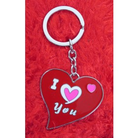 I Love You Valentine Key Chain