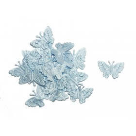 "Little Butterfly Satin Favors (Blue) - 1"" (Pack Of 25)"