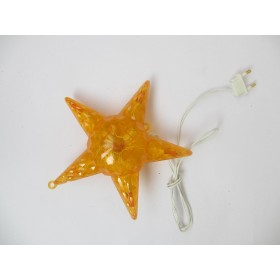 Star Shape LED Christmas Light - Yellow