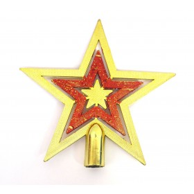 Star Shaped Christmas Tree Topper